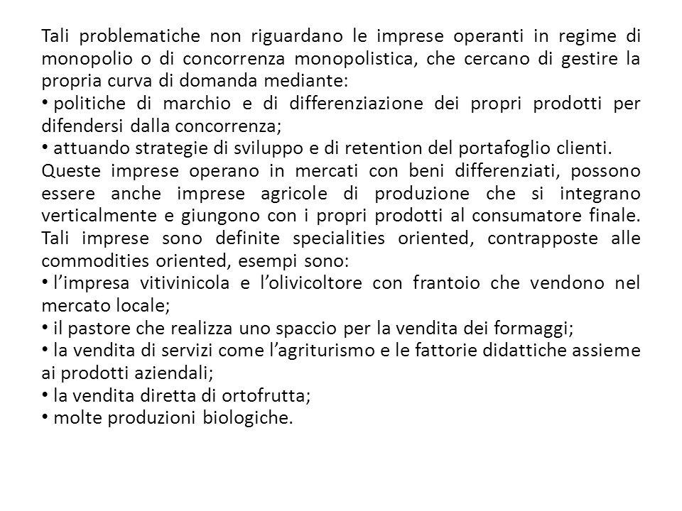 Il dettaglio tradizionale è rappresentato da imprese familiari indipendenti (alimentaristi) classificabili con diversi criteri: generali, specializzati e dettaglianti artigiani (es.