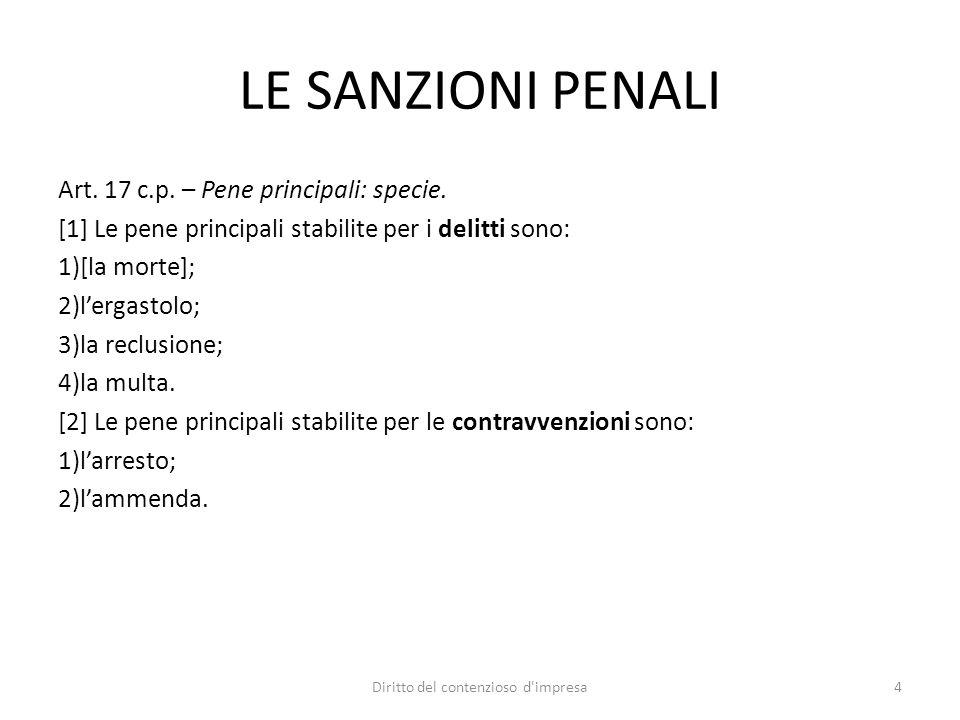 I PRINCIPI COSTITUZIONALI Art.27 co.1 Cost: «La responsabilità penale è personale».