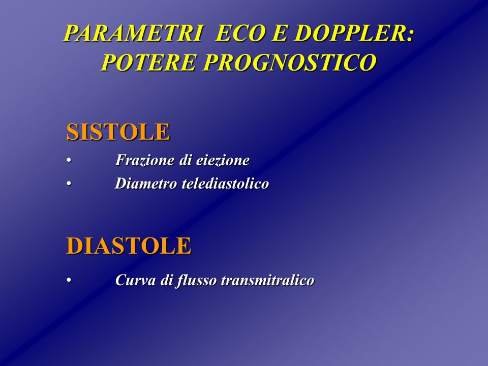 BASALE BASALE PATTERN DI FLUSSO TRANSMITRALICO