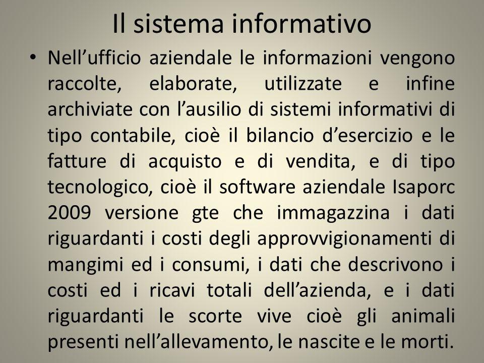 Il sistema informativo Nellufficio aziendale le informazioni vengono raccolte, elaborate, utilizzate e infine archiviate con lausilio di sistemi infor