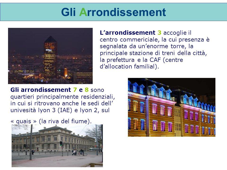 Larrondissement 3 accoglie il centro commericiale, la cui presenza è segnalata da unenorme torre, la principale stazione di treni della città, la prefettura e la CAF (centre dallocation familial).