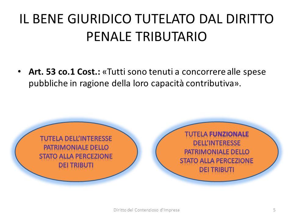 PECULIARITÀ DEI REATI TRIBUTARI D.LGS.74/2000 Cause di non punibilità Art.