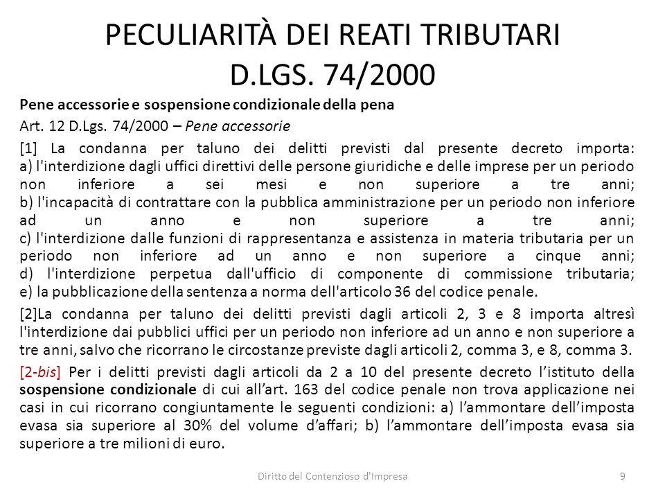 DELITTI IN MATERIA DI DOCUMENTI E PAGAMENTO DIMPOSTE (1) Art.