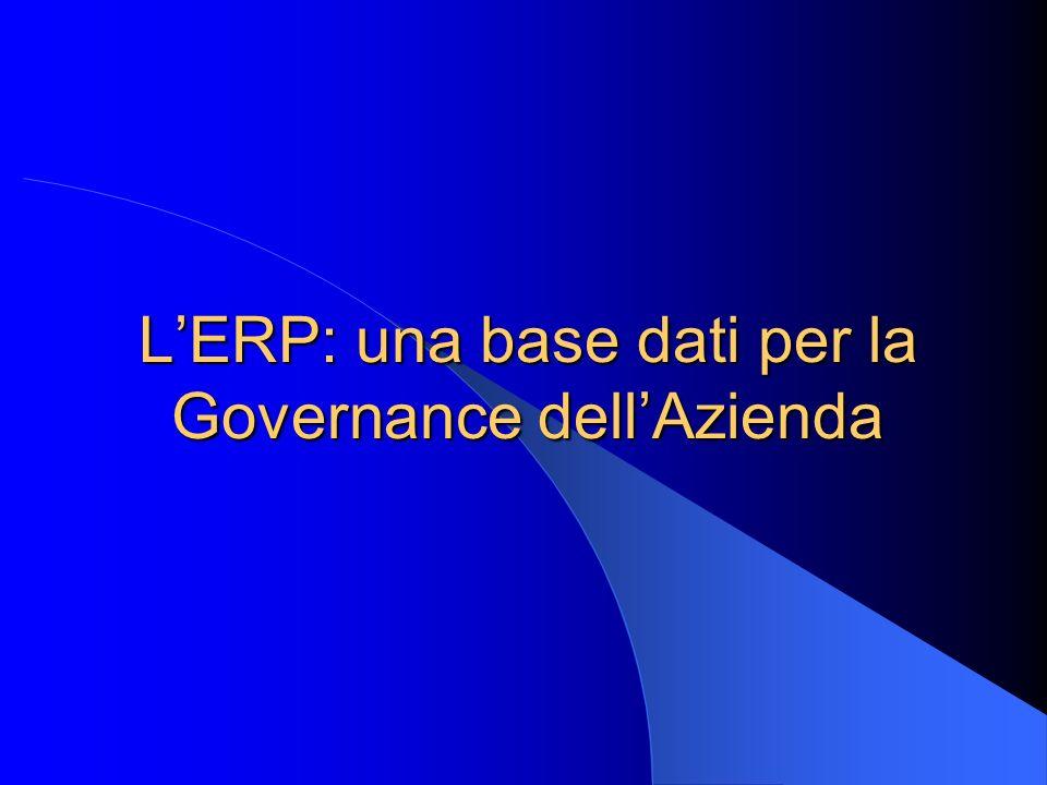 LERP: una base dati per la Governance dellAzienda