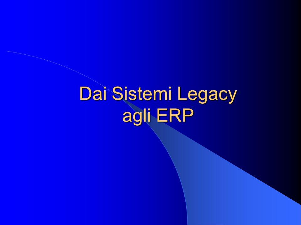 Il sistema ERP come facilitatore dell integrazione organizzativa