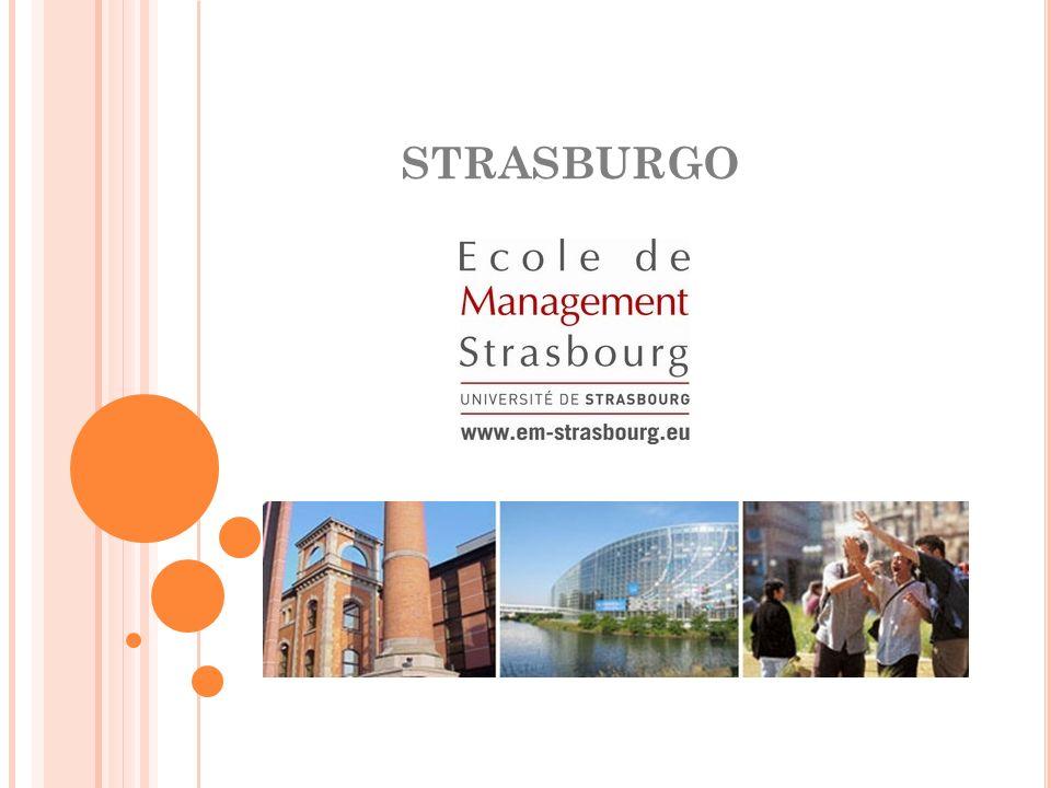 LA CITTÀ… Strasburgo è una città internazionale e turistica.