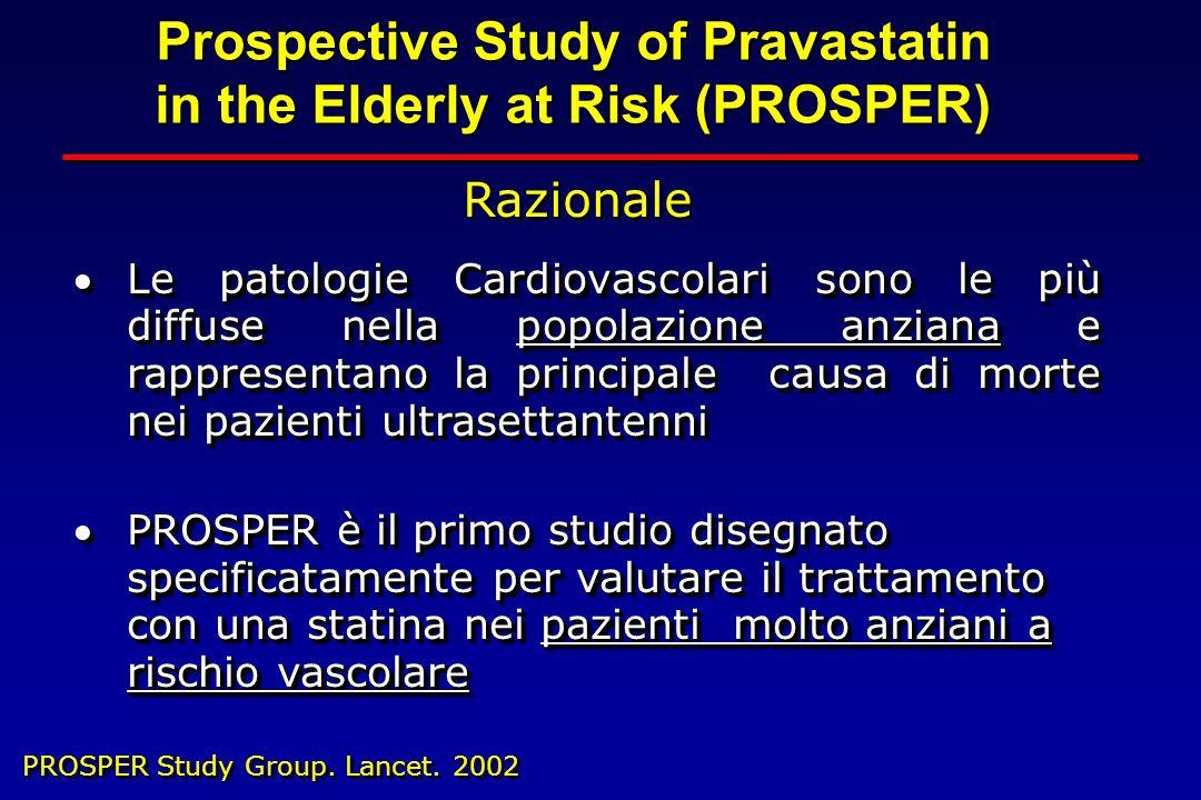 Le patologie Cardiovascolari sono le più diffuse nella popolazione anziana e rappresentano la principale causa di morte nei pazienti ultrasettantenniL