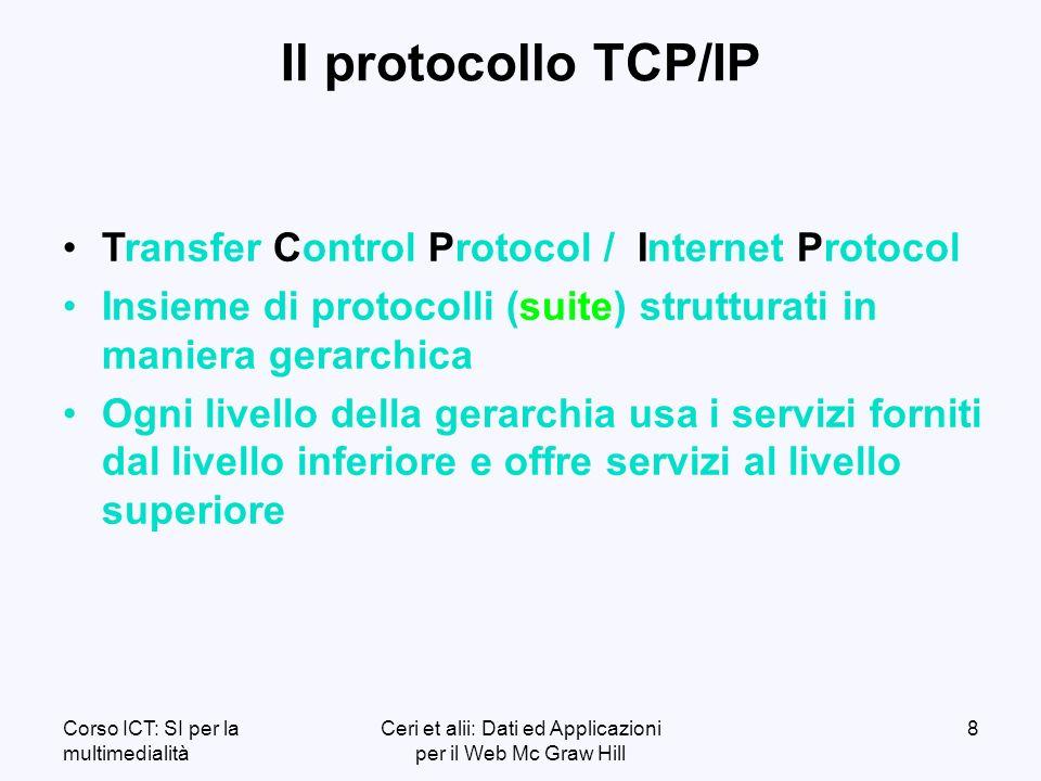 Corso ICT: SI per la multimedialità Ceri et alii: Dati ed Applicazioni per il Web Mc Graw Hill 119 l l Un file.asp contiene una combinazione di: o o Testo o o Tag HTML o o Istruzioni di server-side scripting l l E necessario disporre di un ambiente di compilazione apposito (ad es.