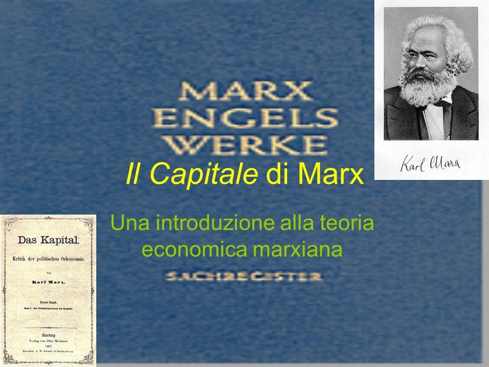 Il Capitale di Marx Una introduzione alla teoria economica marxiana