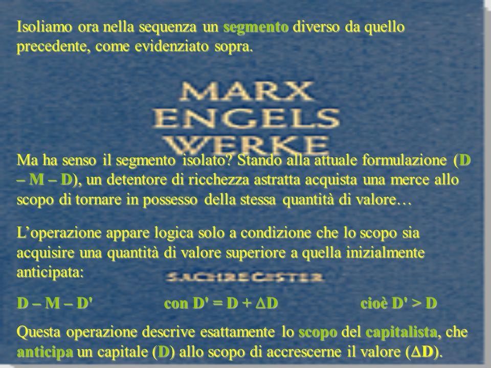 Questa legge è per Marx cruciale perché indica il limite storico del modo di produzione capitalistico possibilità reale del socialismo.