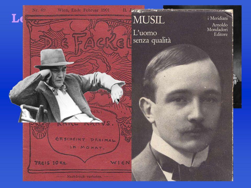 Letteratura Robert Musil Karl Kraus
