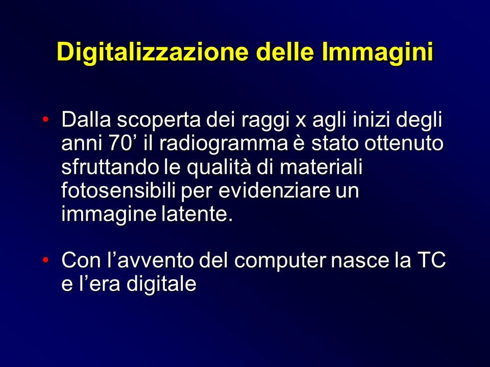 Limmagine digitale viene elaborata in maniera automatica oppure può essere modificata dal radiologo per ottenere un risultato iconografico pertinente al quesito clinico.