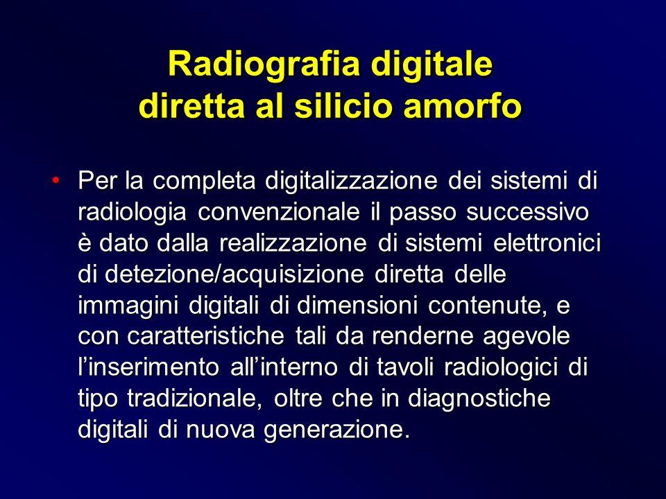 Per la completa digitalizzazione dei sistemi di radiologia convenzionale il passo successivo è dato dalla realizzazione di sistemi elettronici di dete