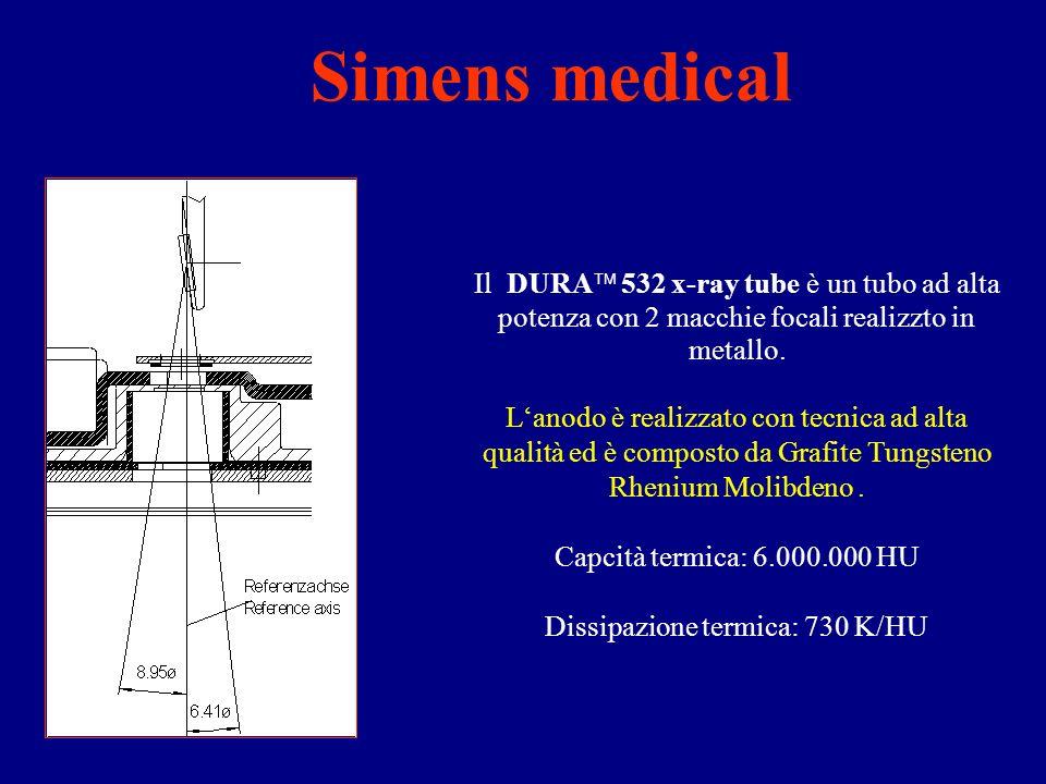 Il DURA 532 x-ray tube è un tubo ad alta potenza con 2 macchie focali realizzto in metallo.