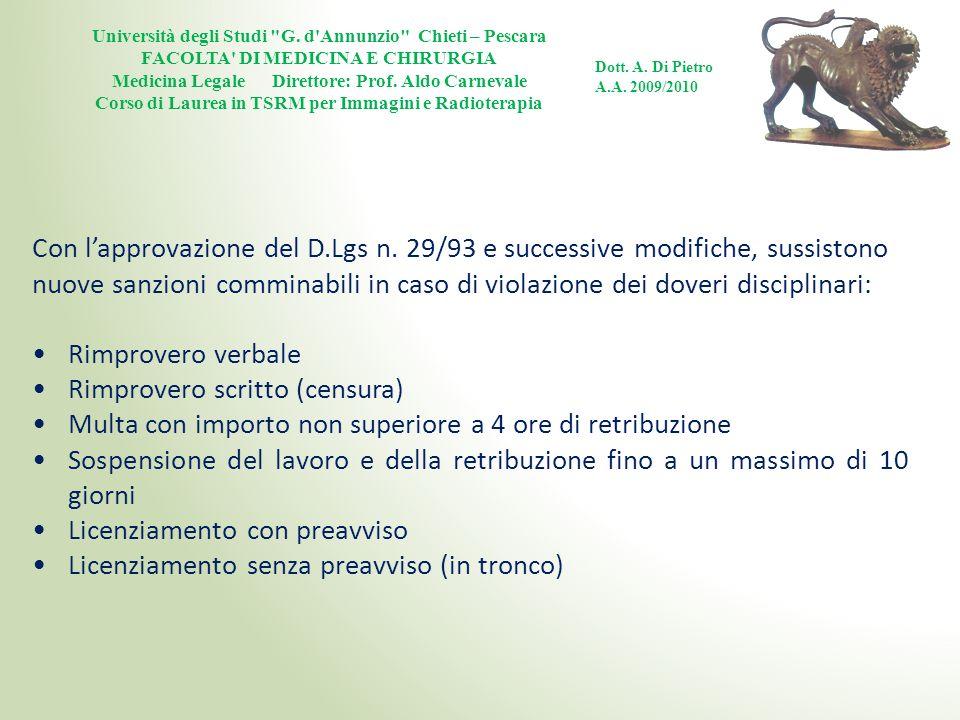 Università degli Studi G.