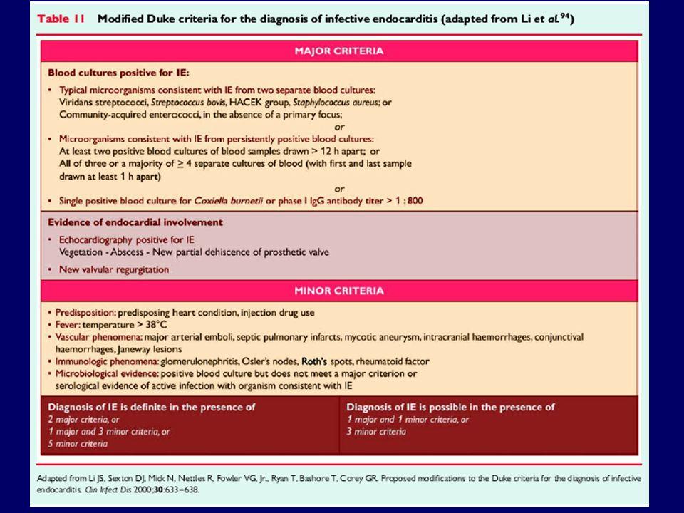 EI Trieste 2005-2009 Febbre allingresso: Presentazione clinica: > 3 settimane 21( 38 %) > 3 settimane 21( 38 %) < 3 sett.