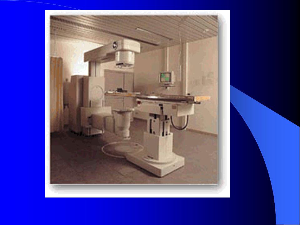 Simulatore: Interfaccia/Rete Capacità di interfacciarsi con Acceleratori Lineare, TAC (per centratura radioterapica), Consolle per piani di trattamento Simulatore: Accessori Sistema di 3 centratori omnidirezionali a raggio laser per la centratura del paziente