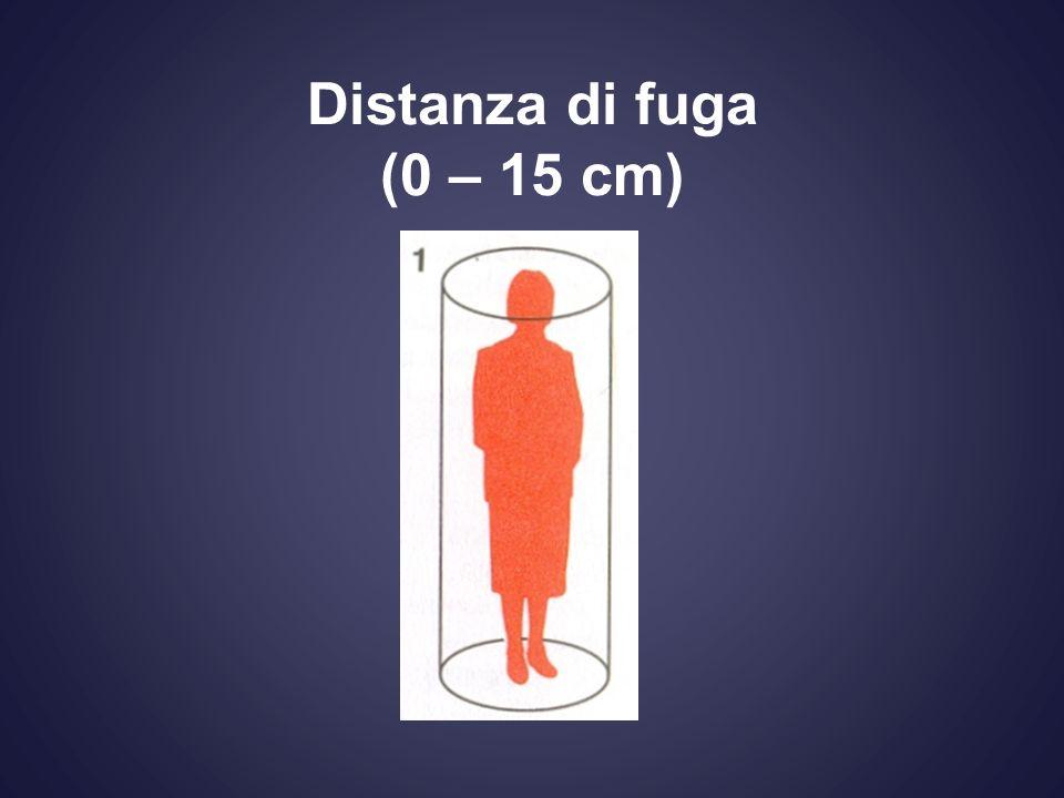 Distanza di fuga (0 – 15 cm)
