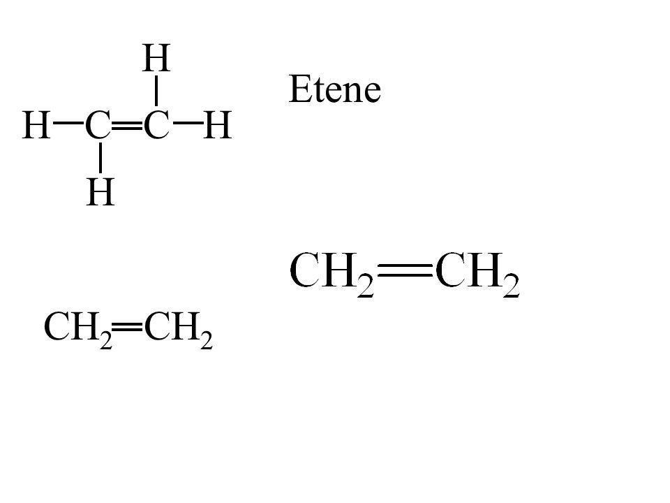 CH H C H H CH 2 Etene