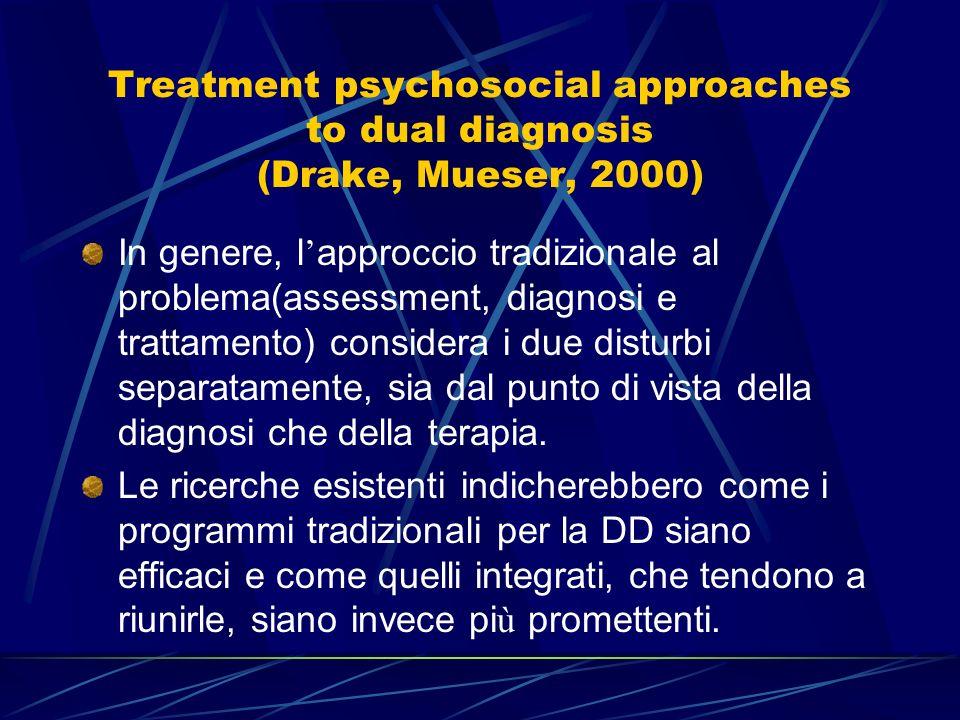 Complessit à psicopatologica VS. Complessit à definizione degli obiettivi terapeutici