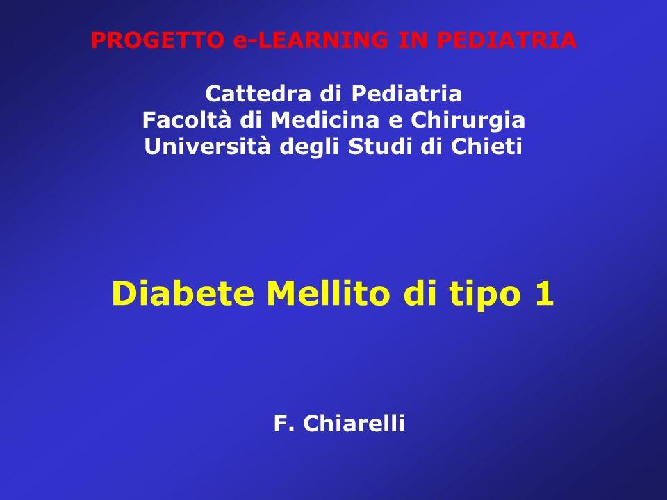 Diabete Mellito di tipo 1 F.