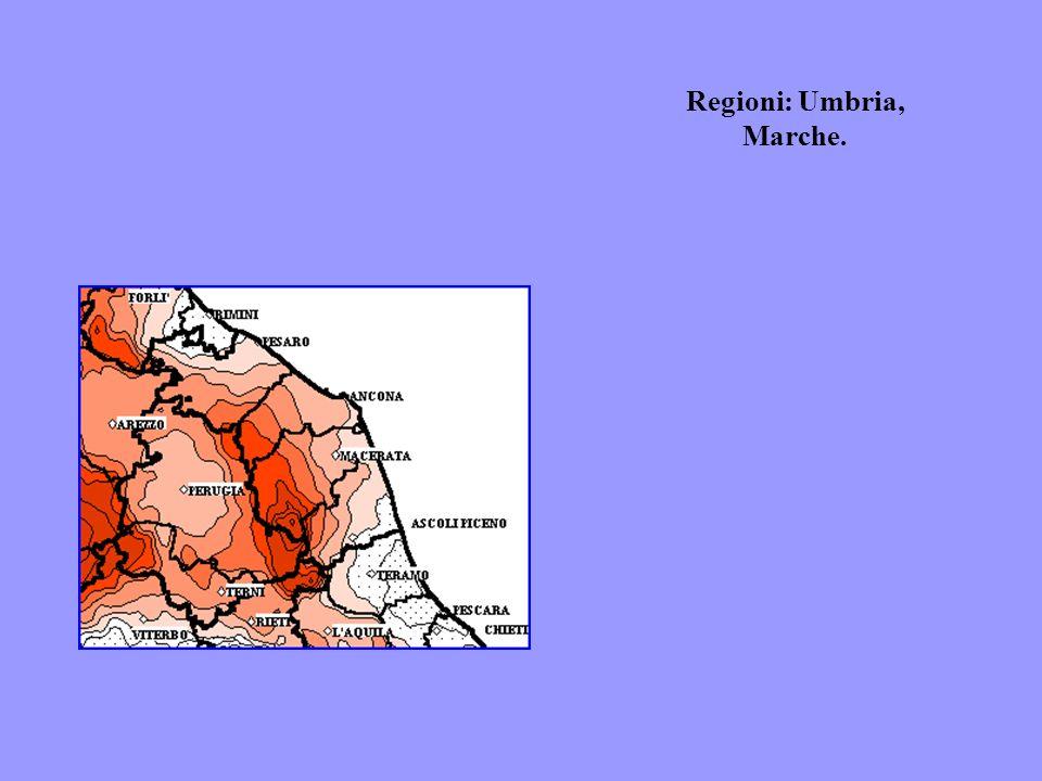 Regioni: Umbria, Marche.