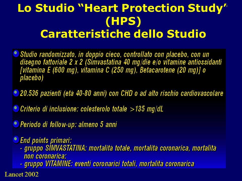 15 Lo Studio Heart Protection Study (HPS) Caratteristiche dello Studio Lancet 2002