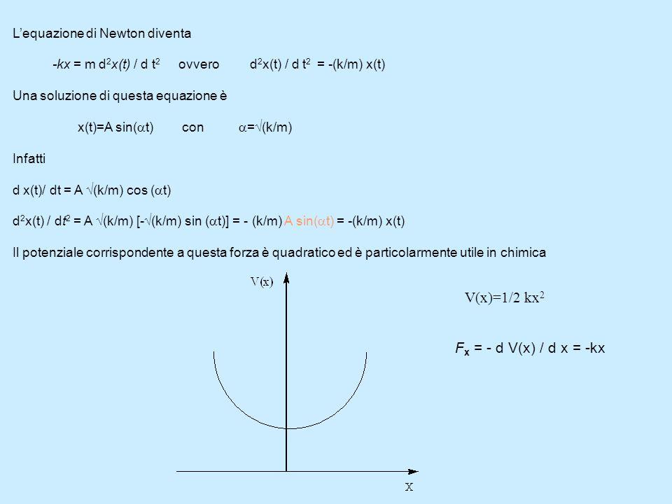 Molecole biatomiche Per una molecola biatomica lenergia elettronica dipende solo dalla distanza internucleari R e basta risolvere lequazione di Scrödinger elettronica per varie distanze.