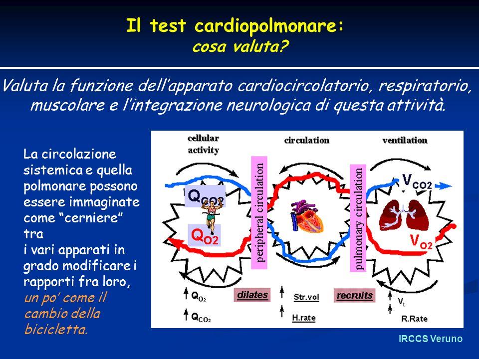 IRCCS Veruno Il test cardiopolmonare: cosa valuta.