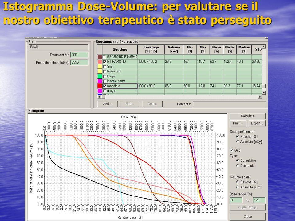 Istogramma Dose-Volume: per valutare se il nostro obiettivo terapeutico è stato perseguito