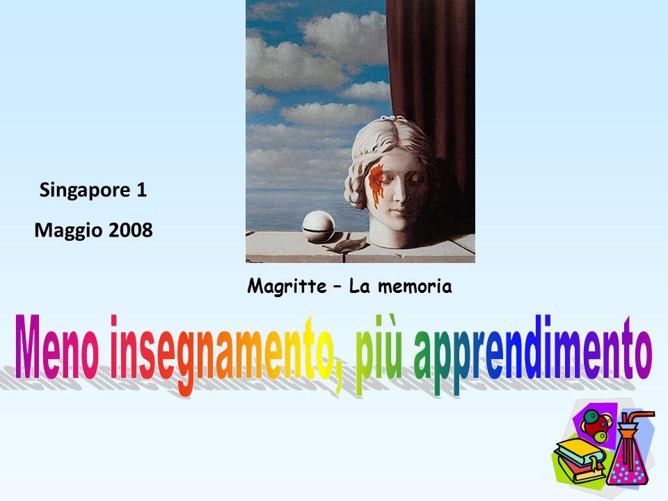 Singapore 1 Maggio 2008 Magritte – La memoria