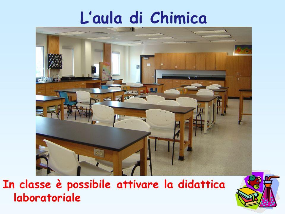 Laula di Chimica In classe è possibile attivare la didattica laboratoriale