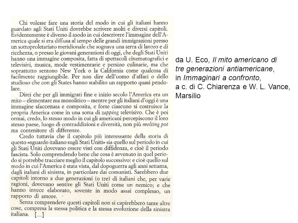 da G.Prezzolini, La lingua della giobba, in America in pantofole, 1950 da E.
