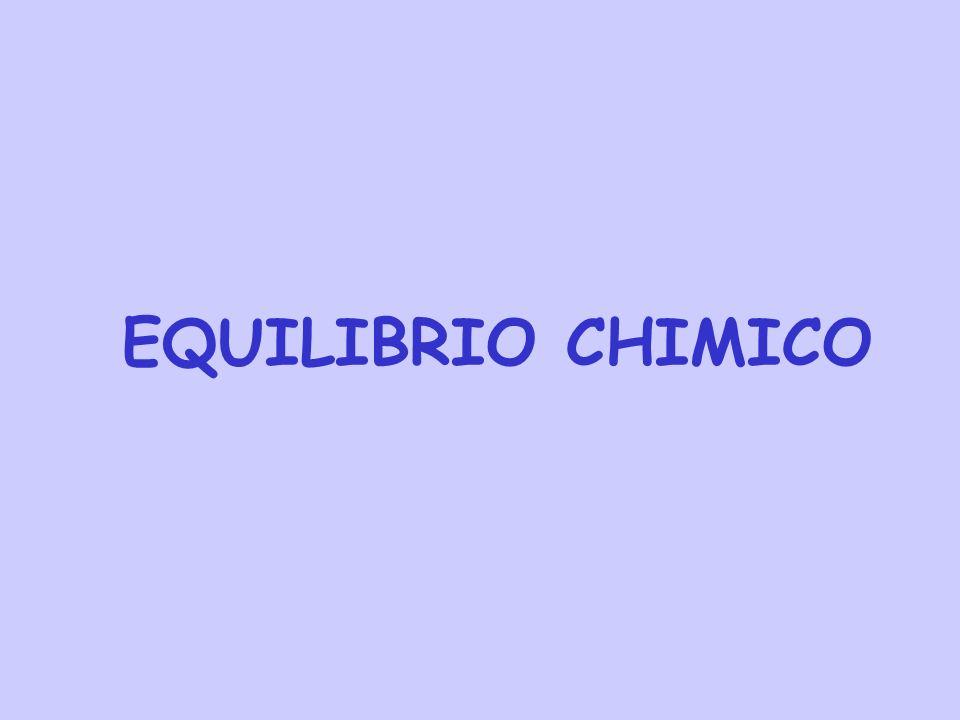 Esempi Dallespressione della costante di equilibrio è evidente che il suo valore numerico dipende da come è scritta lequazione chimica (ad esempio dai coefficienti stechiometrici usati).