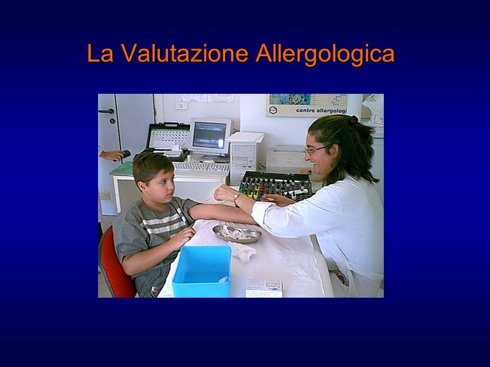 La Valutazione Allergologica