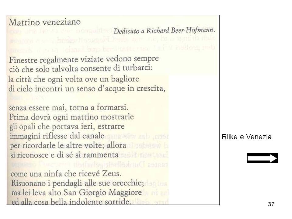 37 Rilke e Venezia