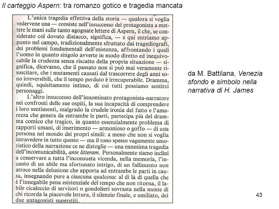 43 da M. Battilana, Venezia sfondo e simbolo nella narrativa di H. James Il carteggio Aspern: tra romanzo gotico e tragedia mancata