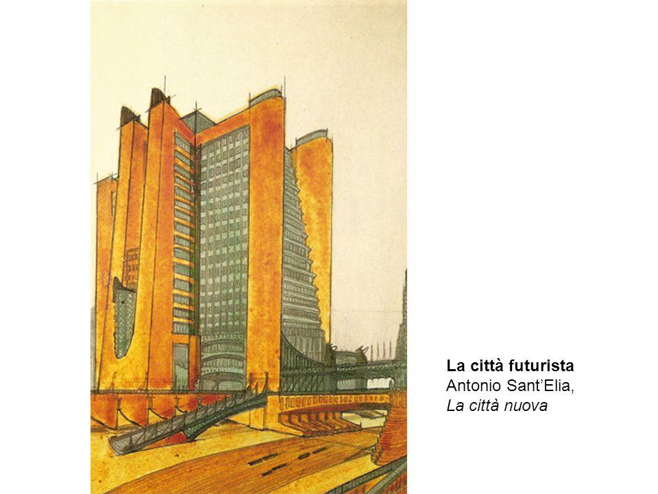 La città futurista Antonio SantElia, La città nuova