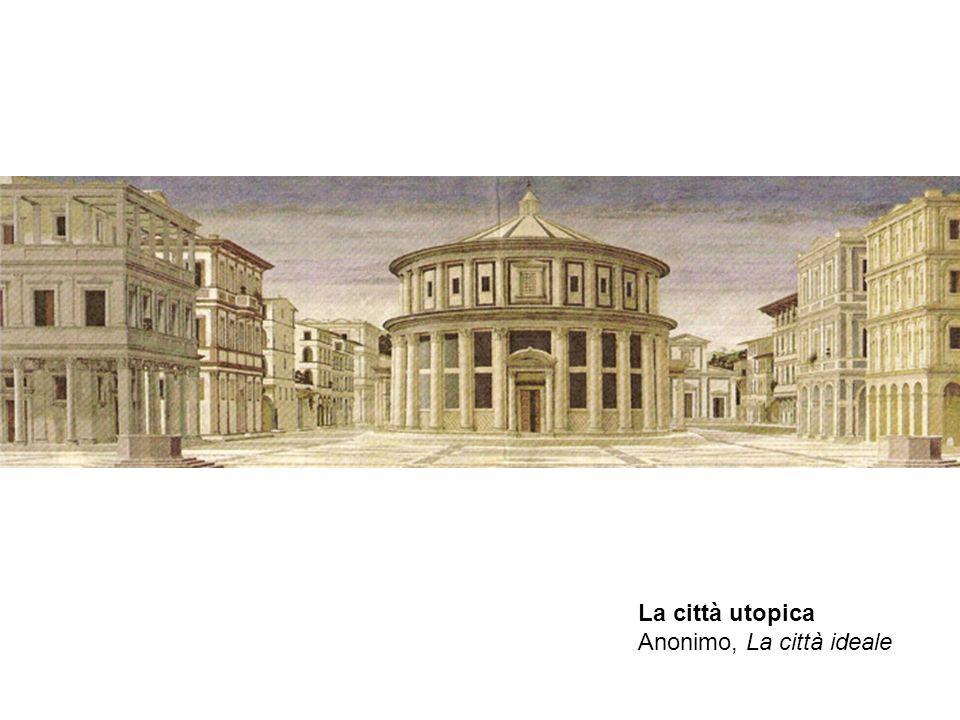 La città utopica Anonimo, La città ideale