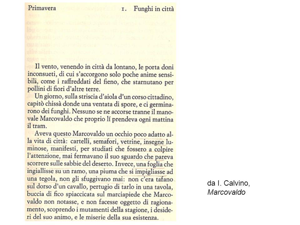 […] da I. Calvino, Marcovaldo