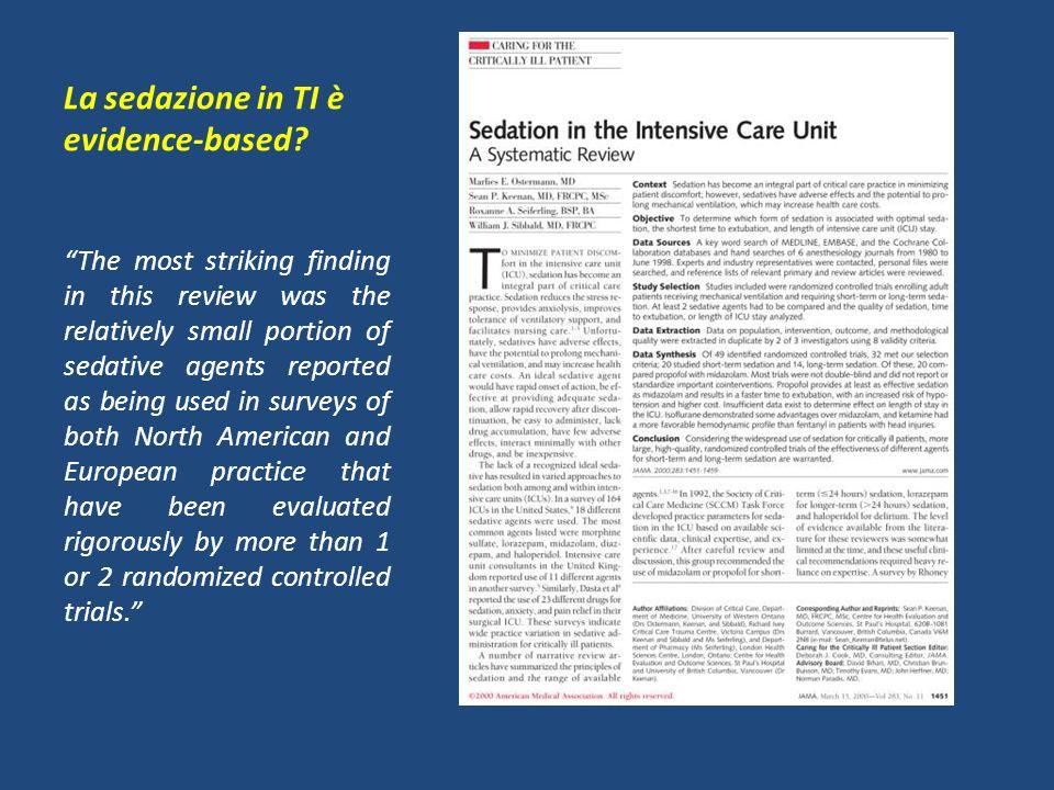Altering Intensive Care Sedation Paradigms to Improve Patient Outcomes 1 st ACCM Guidelines Riker RR et al.
