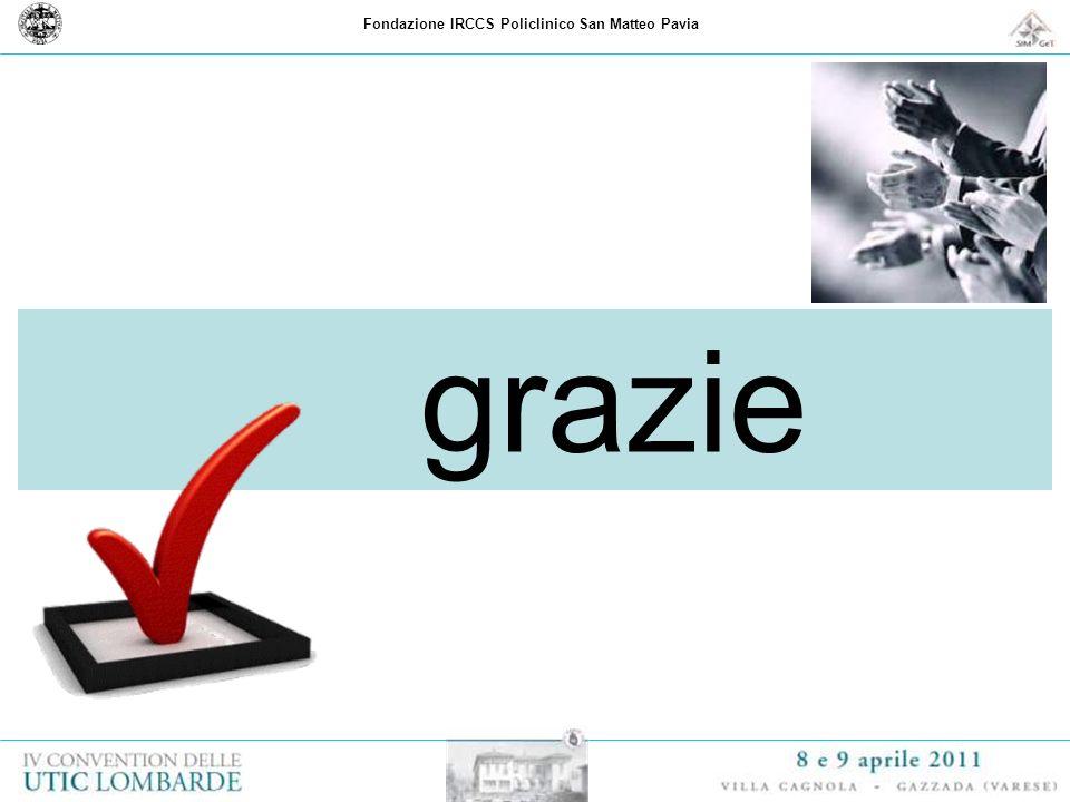 Fondazione IRCCS Policlinico San Matteo Pavia grazie