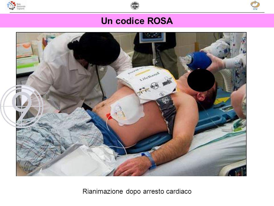 Un codice ROSA Rianimazione dopo arresto cardiaco
