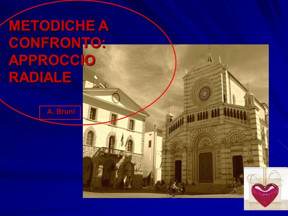 METODICHE A CONFRONTO: APPROCCIO RADIALE A. Bruni