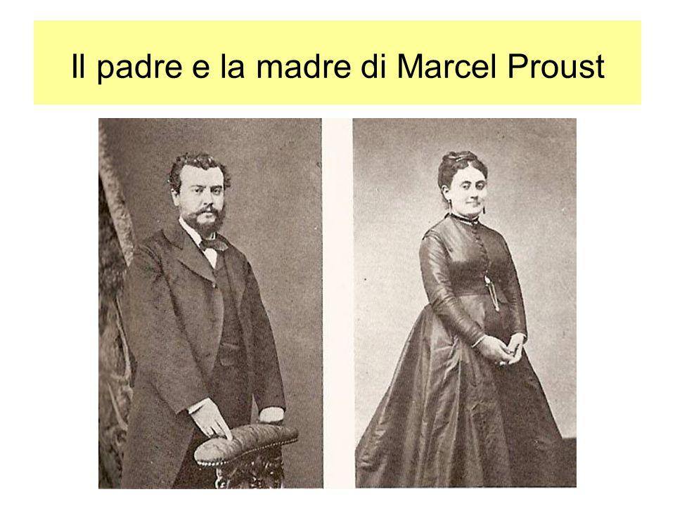 Il padre e la madre di Marcel Proust