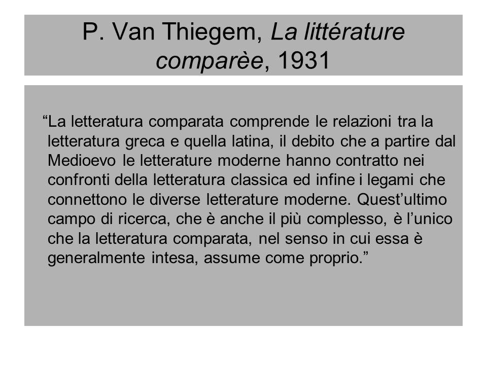 René Wellek e la letteratura comparata la letteratura comparata può meglio essere difesa e definita dalla sua prospettiva e dal suo spirito che da qualsiasi partizione circoscritta entro la letteratura.…