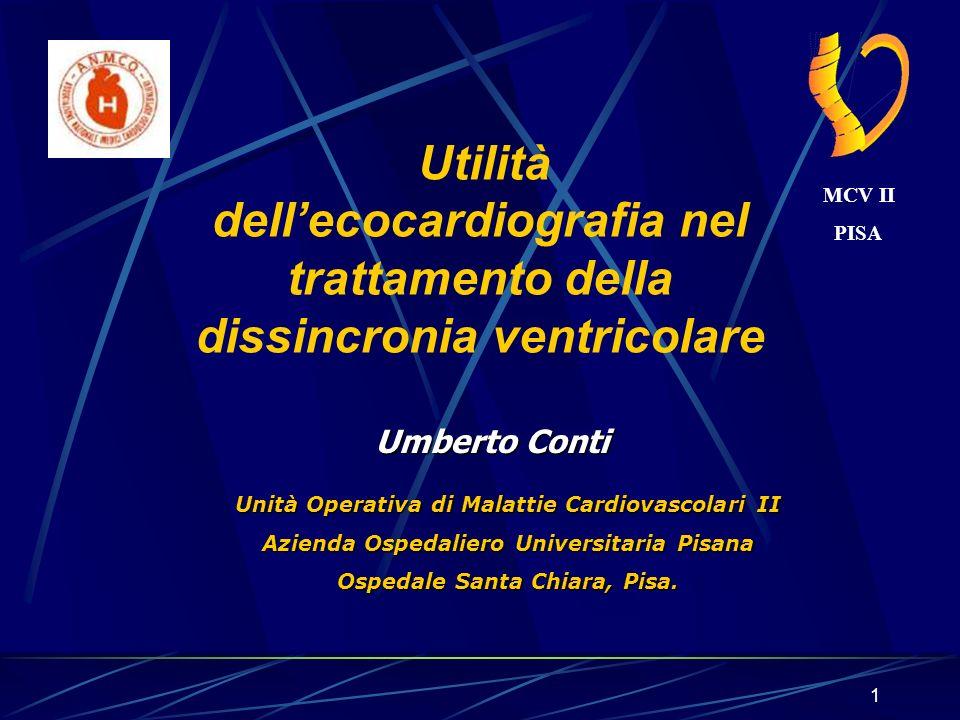 1 Umberto Conti Unità Operativa di Malattie Cardiovascolari II Azienda Ospedaliero Universitaria Pisana Ospedale Santa Chiara, Pisa. Utilità dellecoca