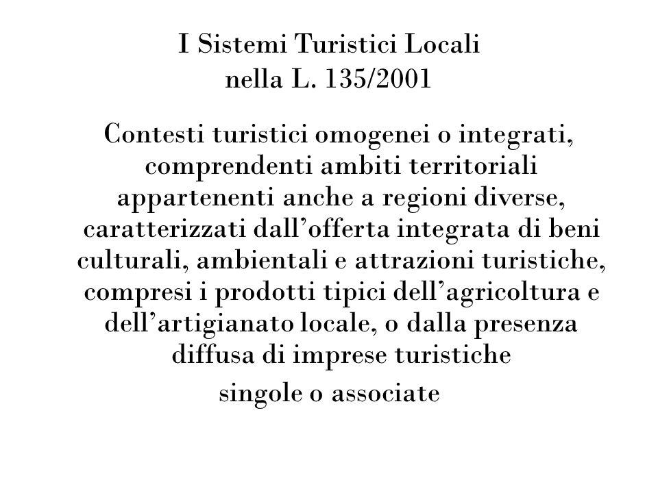 I Sistemi Turistici Locali nella L.