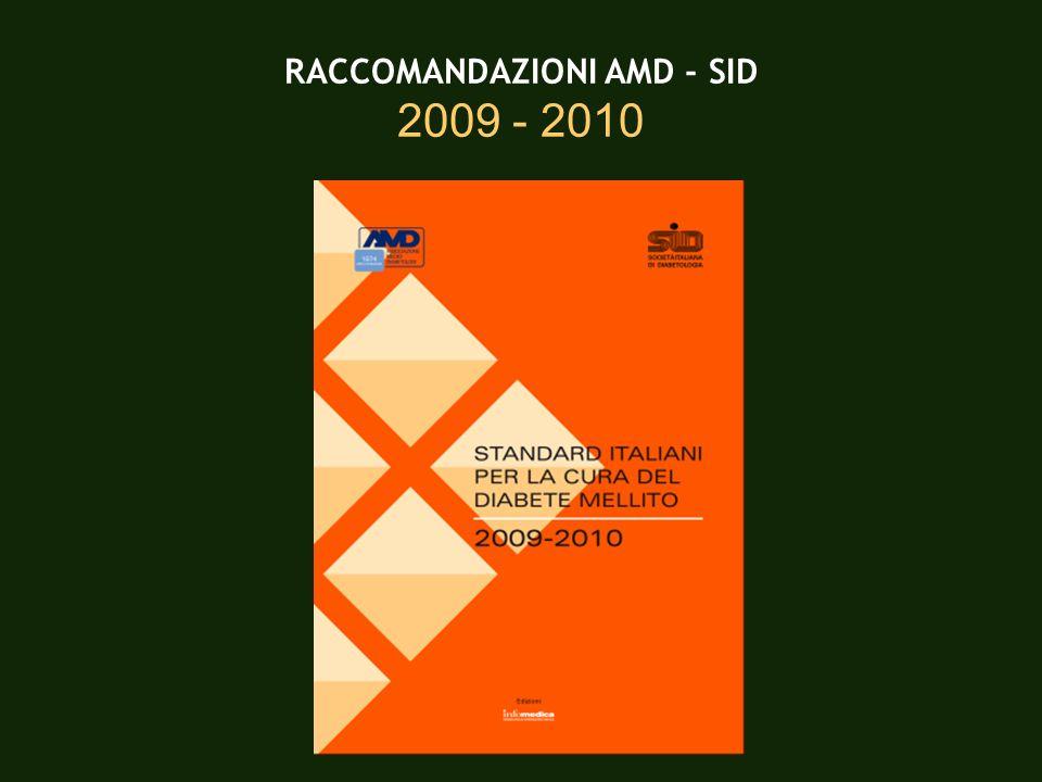 RACCOMANDAZIONI AMD - SID 2009 - 2010
