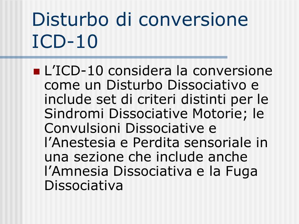 Ipocondria ICD-10: Criteri diagnostici E. La durata dellalterazione è di almeno 6 mesi F. La preoccupazione non è meglio attribuibile a Disturbo dAnsi